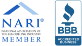 About Marc Gieselmann, owner HK Construction Services, Member NARI and BBB A+ Rating
