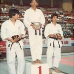 梁伯偉師傅勇奪個人搏擊冠軍 Sensei Patrick P. W. Leung won the champion in the category of individual kumite