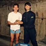 "梁伯偉師傅奪得男子最佳長跑與最佳籌款獎 Sensei Patrick P. W. Leung, awarded the titles ""Best Marathon Man"" and ""Best Fund-Raising Man"""