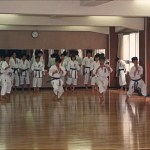 日大鶴ケ丘高中空手道部練習情況 A training session at the Karatedo Squad of Tsurugaoka High School, Nihon University