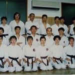 與拳心會師範西谷賢先生及其學生合照 With Sensei Nishitani of Kenshin Kai, and his students