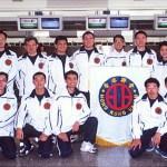 香港糸東流空手道代表隊攝於機場 Hong Kong Shitoryu National Team at the airport