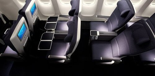 BA New World Traveller Plus Seat