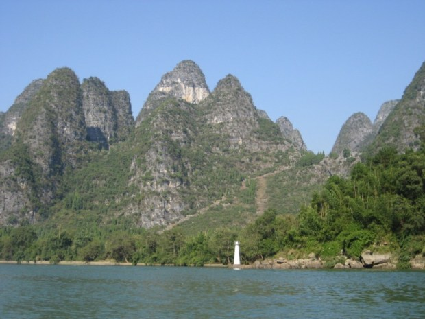 China's famous 'mountain' 'water' scenery