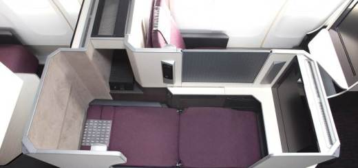 New JAL Business seat