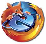 Firefox se come a Internet Explorer... literalmente...