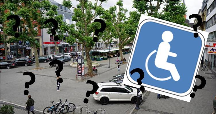 Barrierefreiheit und geeignete Parkplätze sind nicht nur Thema für Menschen mit Behinderung.