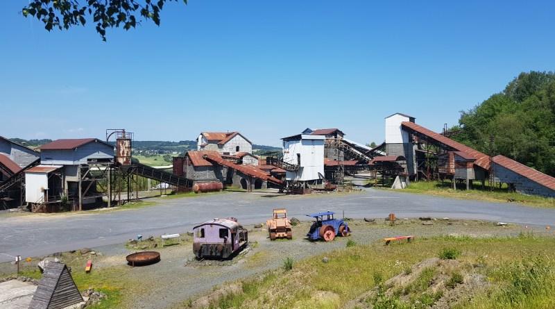 Die alte Industrieanlage im Stöffel-Park Enspel lädt zum Entdecken ein.