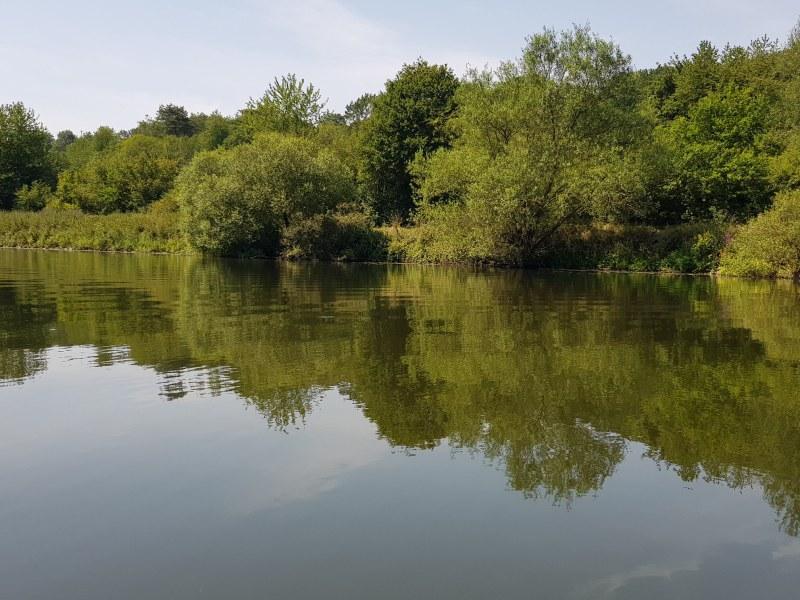 Spiegelungen auf dem Wasser