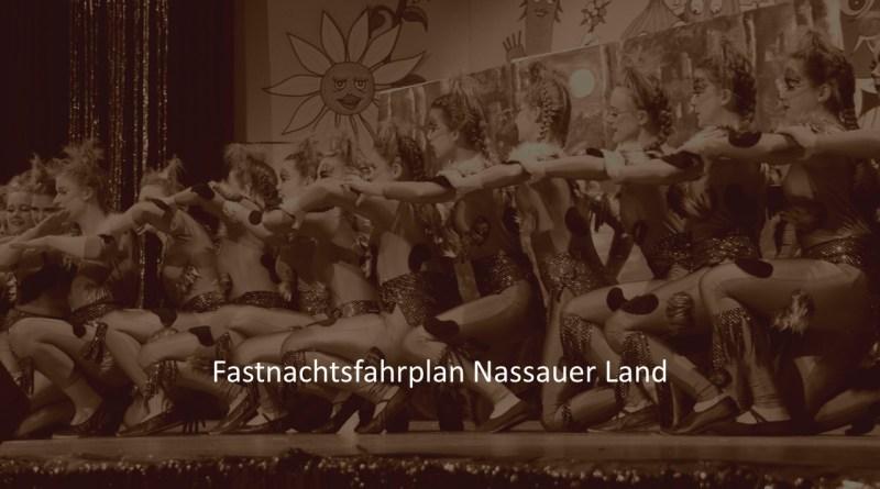 Fastnacht Fahrplan Limburg Weilburg