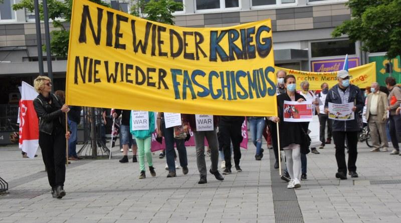 Demonstration Bündnis Courage Limburg