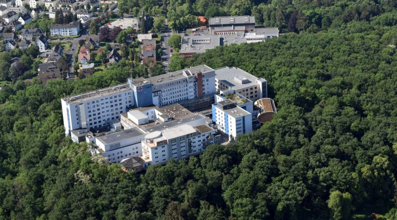 Luftbild Krankenhaus Limburg