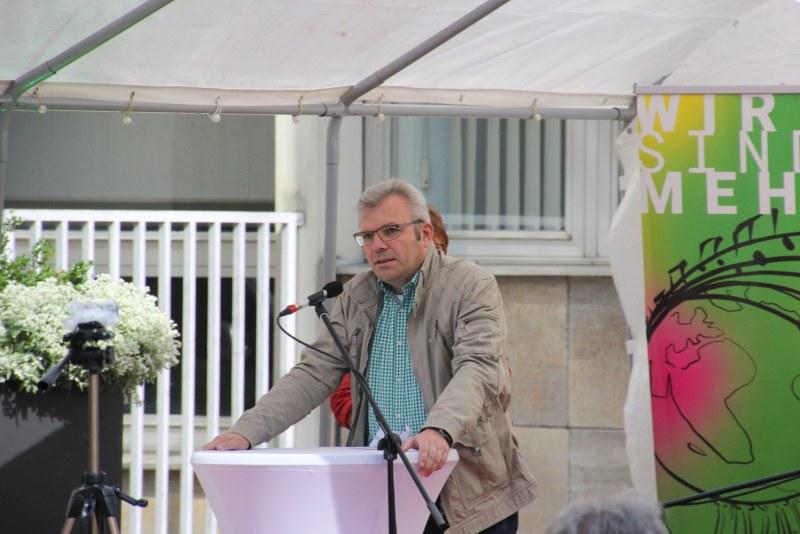 Klappstuhlsession Bürgermeister Hahn Limburg