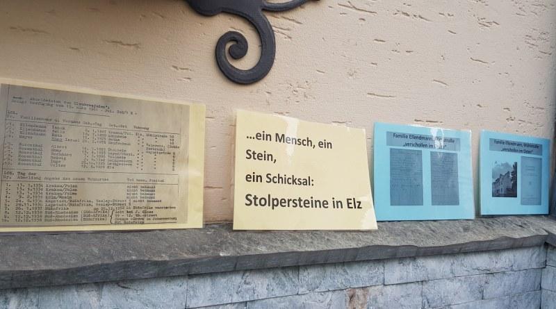 Stolpersteine Elz