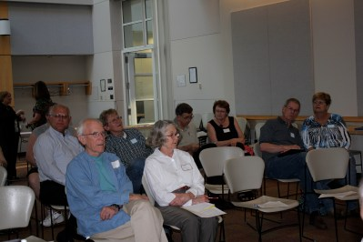 Audience prior to meeting