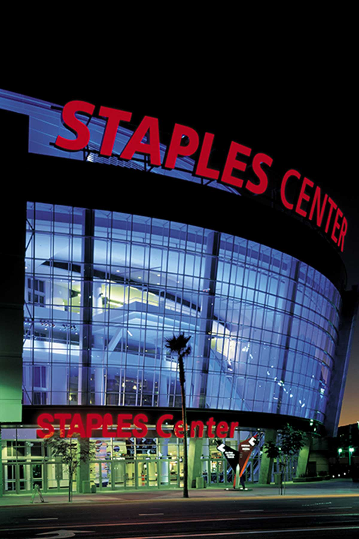 Staples Center Lighting Design Horton Lees Brogden
