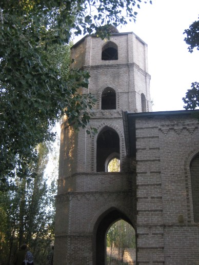 Assyrian church in Supurhan, newly built in the late 19th c., possible with Russian missionary support (c) MvdB