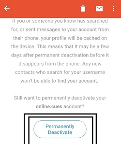 How to delete Kik account