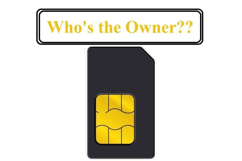 How to Change SIM Card Owner Name online