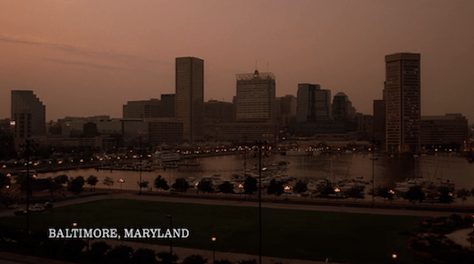 Baltimore in X-Files