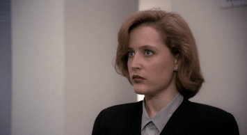 Mulder's going to say something weird I feel it