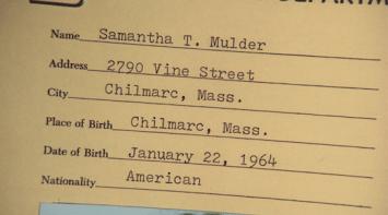 Samantha's File