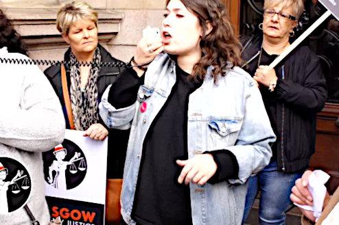 Rhea Wolfson, GMB Scotland Organiser