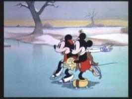 映画:ミッキーのアイススケート