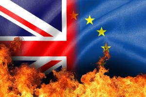 Brexit on fire