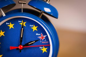 Brexit clock ticking