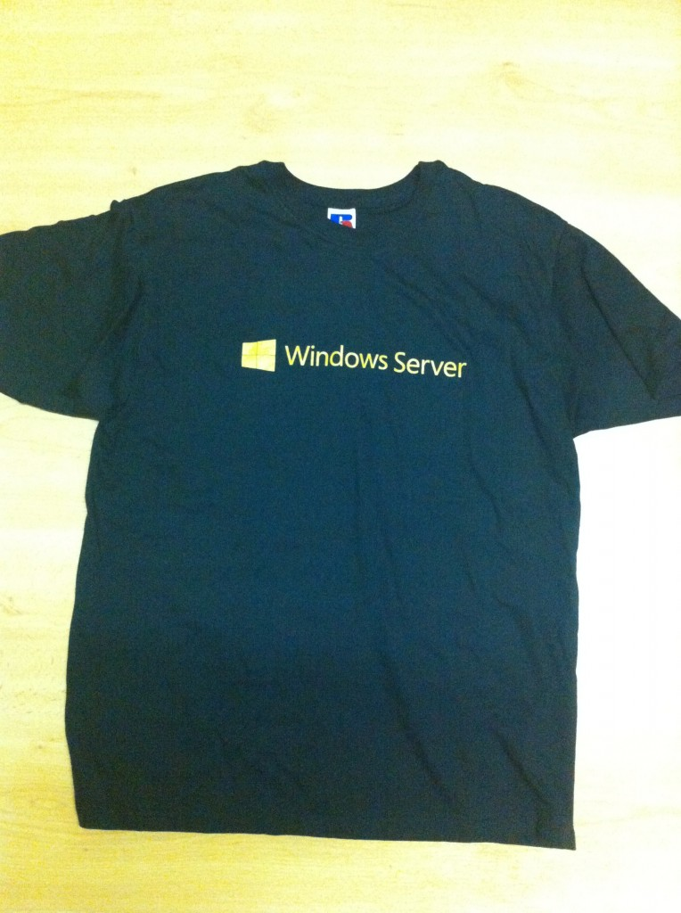 Camiseta Windows Server