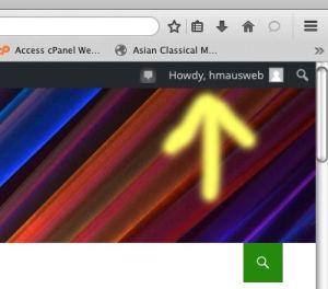 Profile access location image.