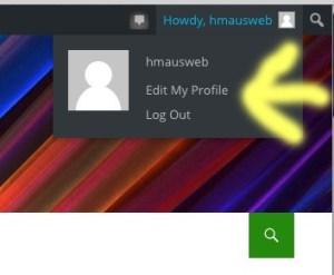 Edit My Profile image