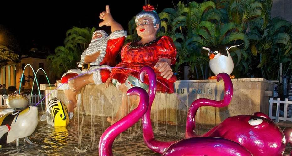 Honolulu City Lights exhibit photo
