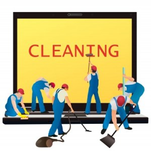 Computer cleaning image