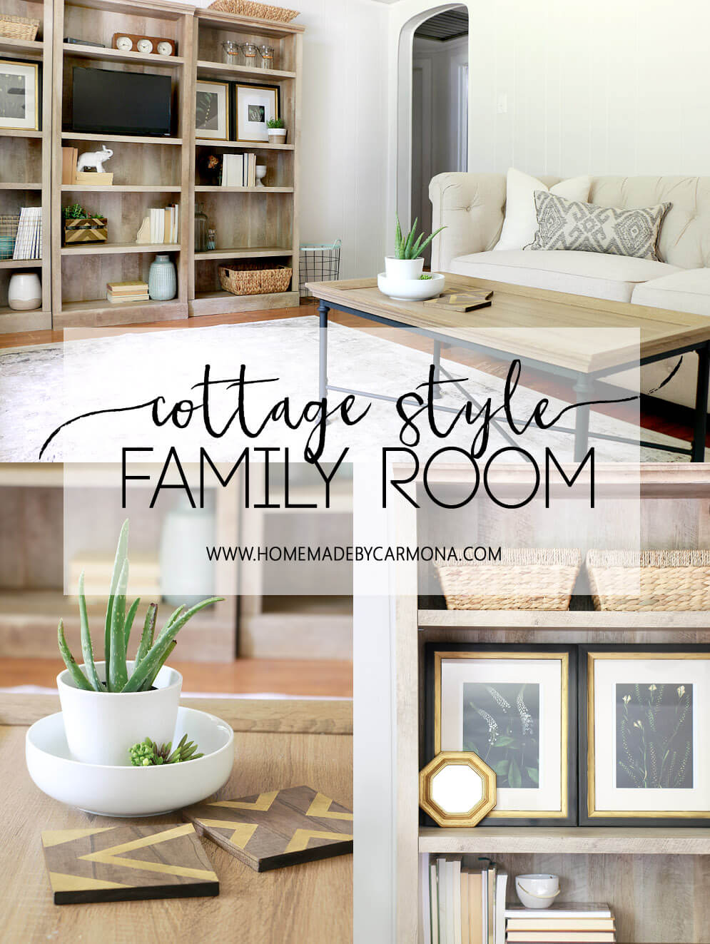 Cozy Cottage Family Room Home Made By Carmona