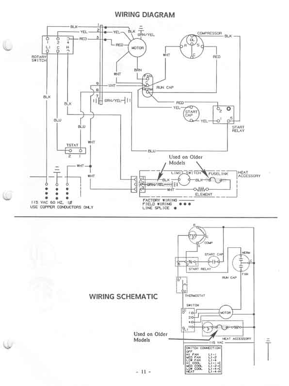 Dometic Air Cond Wiring Diagram Dometic Rooftop Rv Air Conditioner