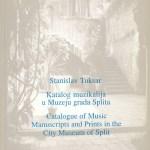 Katalog muzikalija u Muzeju grada Splita