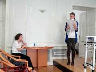 Zapisničarka Vilena Vrbanić i tajnica HMD-a Monika Jurić Janjik