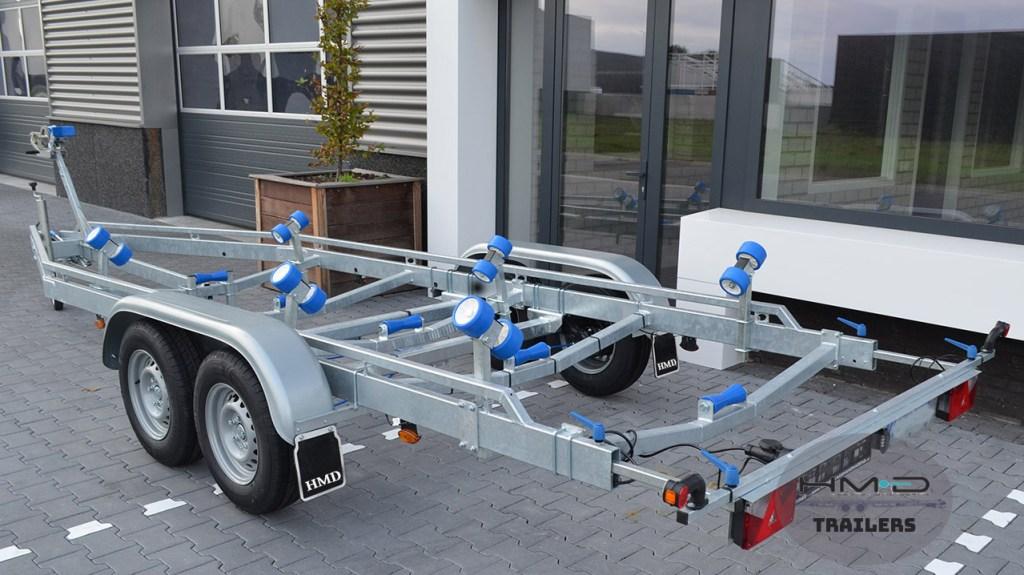 Boat & Rib Trailer 7M twin axle