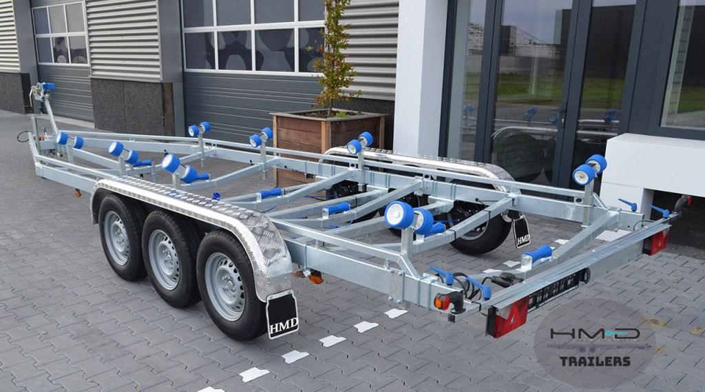 Boat & Rib Trailer 8.4M tri axle