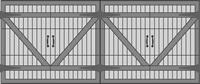 Carriage House 2020 Series Garage Door