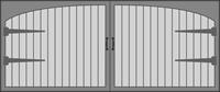 Carriage House 4050 Series Garage Door