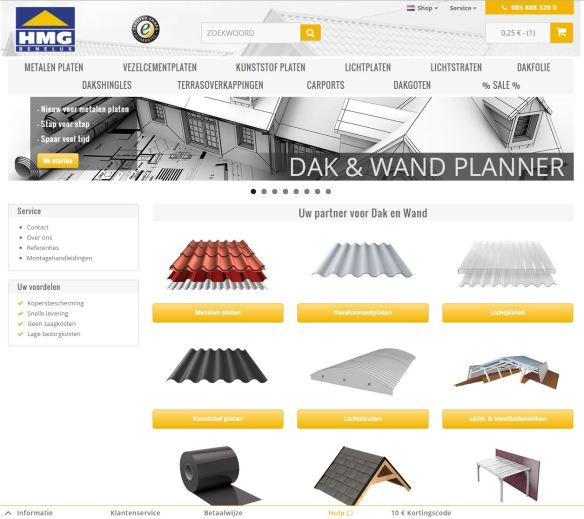 HMG Benelux Shop