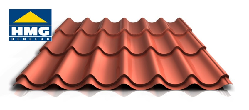 Dakpanplaat 47/1060 terracotta