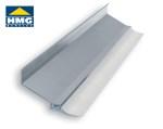 Muuraansluitprofiel van aluminium