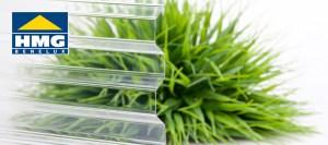 Polycarbonaat lichtplaat glashelder
