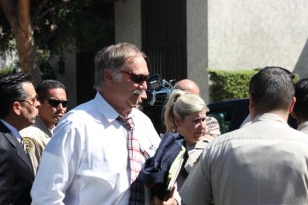 Attorneys of Nakoula arrive in Cerritos