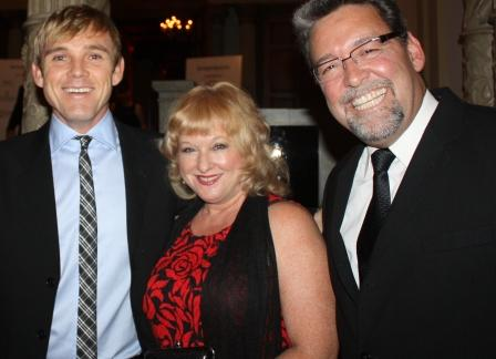 Actor Rick Schroeder and Cora and Brian Hews at the National Youth Guard Gala