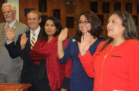 History Made At Cerritos College After Four New Trustees Take Office